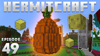 Hermitcraft 7 - Ep. 49: SPONGEBOT SPONGE EMPORIUM! (Minecraft 1.16) | iJevin