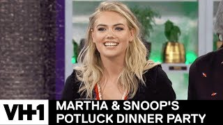 Kate Upton & LL Cool J Decipher Snoop's Tweets 'Sneak Peek' | Martha & Snoop's Potluck Dinner Party