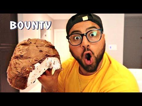 DIY GIANT BOUNTY BAR!!