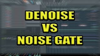 Mixer Tip - The Importance of Denoising Vocals, Rather Than Noise Gating