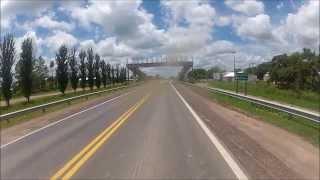 Visitando Argentina (71) - ZAZ - Chaco - Honda CG 150 - Go Pro - Ruta Nacional 40