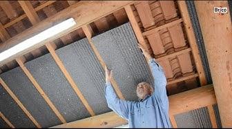 Isoler facilement la sous-toiture avec des panneaux de polystyrène - Tuto bricolage avec Robert