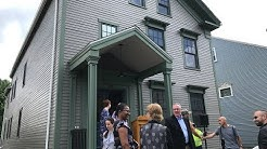 Restored New Bedford home for sale through lottery
