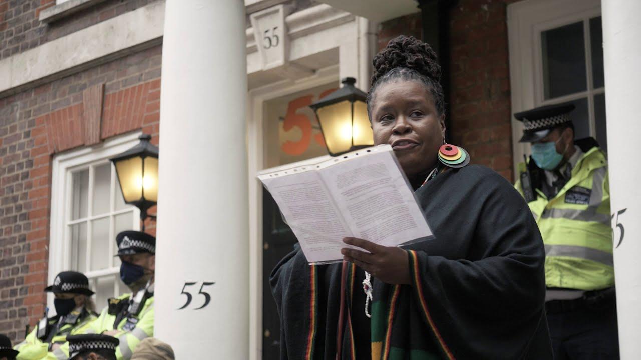 Watch: Esther Stanford-Xosei reading Ken Saro-Wiwa