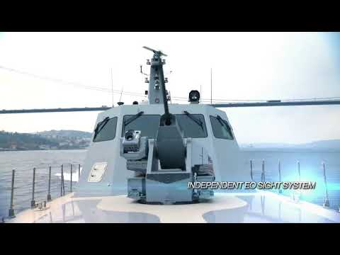 EP.42. ASELSAN   SMASH 30MM Remote Controlled Stabilized Naval Gun System