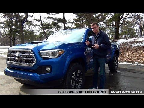 Review: 2016 Toyota Tacoma TRD Sport 4x4