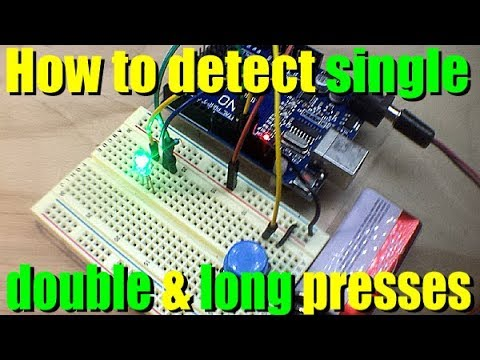 How to Detect Short, Long, and Double Clicks with Arduino