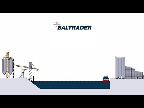 Baltrader Concept of selfdischarging cement vessel