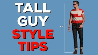 7 Style Tips for Tall Guys | How to Dress | Parker York Smith