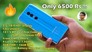 Best Budget 18:9 Phone with Dual Cameras for 6500 Rs...