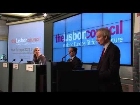 UK's Europe Minister Lidington at the Europe 2020 Summit - Lisbon Council