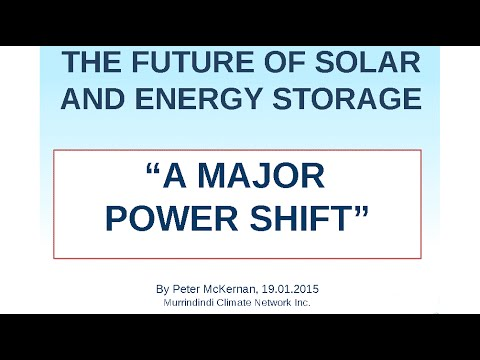 The Future of Solar and Storage