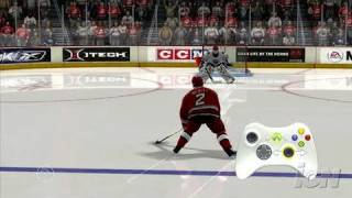 NHL 07 Xbox 360 Feature-Commentary - Skill Stick Tutorial