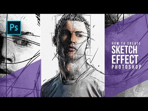 how-to-create-portrait-sketch-effect-in-photoshop---photoshop-tutorials