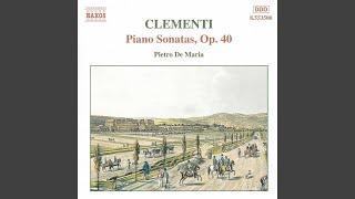 Piano Sonata in G Major, Op. 40, No. 1: II. Adagio: Sostenuto e cantabile