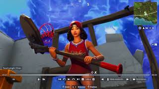 TRIPLE THREAT FEMALE BASKETBALL FORTNITE SKIN FIRST LOOK! | TBNRKENWORTH