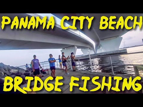 Fishing Hathaway Bridge in Panama City Beach - Giant Baits for Giant Fish