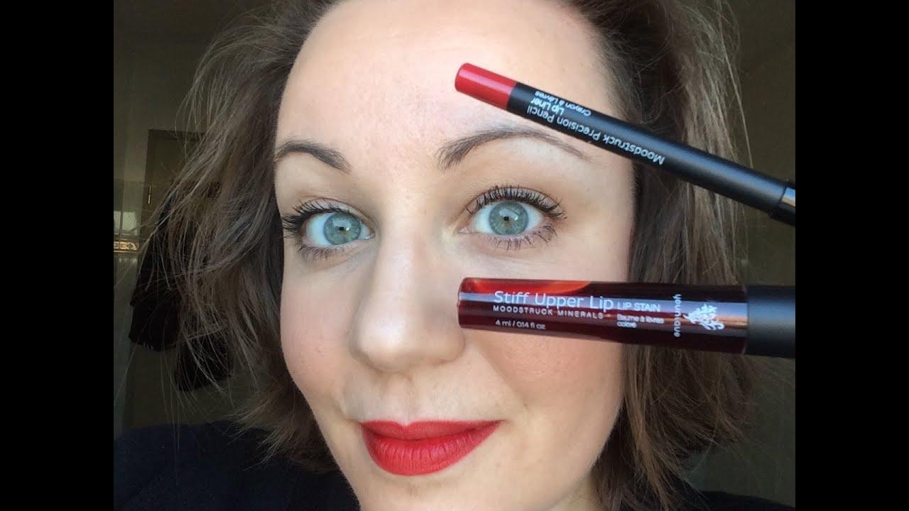 Super Mon combo lèvres préféré : Younique crayon Moodstruck Précision  CO33