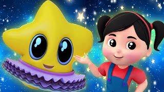 мерцание мерцание маленькая звезда | Twinkle Twinkle | Kids Baby Club Russia | Мультфильмы для детей