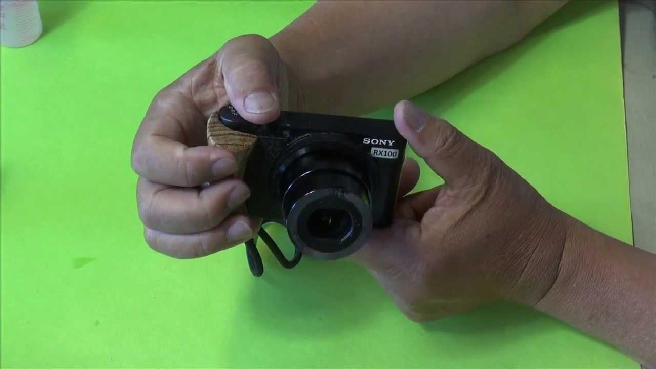 Sony Rx100-wooden hand grip vs Hasselblad Stellar - YouTube
