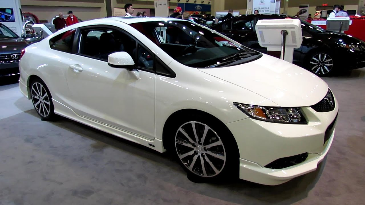 2013 Honda Civic Si HFP   Exterior And Interior Walkaround   2013 Ottawa  Auto Show   YouTube