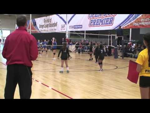 Offshore Volleyball 12-2 vs Epic Volleyball 12 (Match 1) 1/10/15