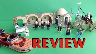 Lego Star Wars Mos Eisley Cantina Set 75052 Review Summer Wave