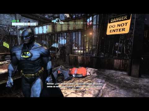 Batman Arkham City Español - |Misión Secundaria Paralela Un Disparo En La Oscuridad| 1080p Guia Español Walkthrough PC