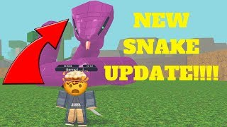 NRPG NEW: BEYOND FIRST LOOK AT THE NEW SNAKE!!! [ROBLOX]