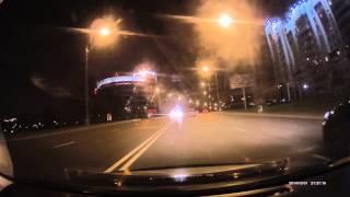 Skoda Rapid #11 - видеорегистратор Procam CX4 пример видео ночь(Procam CX4 на видео запись видеорегистратора в ночь в темное время суток обзор регистратора:https://www.youtube.com/watch?v=uoLe..., 2014-11-02T07:44:36.000Z)