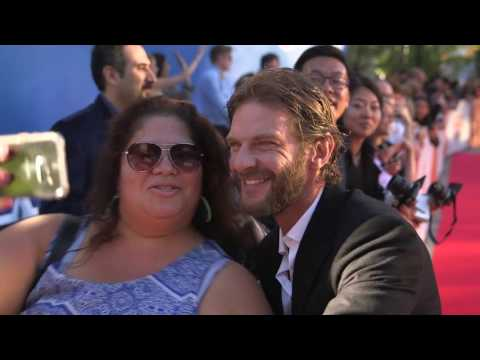 The Journey is the Destination: Sam Hazeldine TIFF 2016 Movie Premiere Gala Arrival