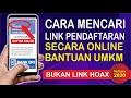 Cara Mencari Link Pendaftaran Online Bantuan UMKM 2.4 Juta