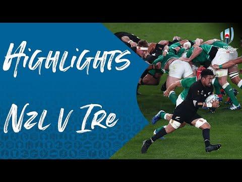 Highlights: New Zealand 46-14 Ireland – Rugby World Cup 2019 quarter-final