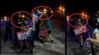 Fan nữ bị bảo vệ đánh khi chạy vào sân khấu xem Noo Phước Thịnh [tin tức trong ngày]