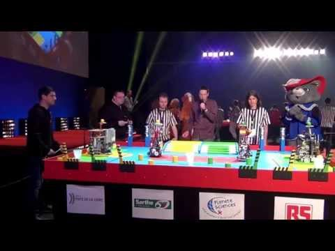 2015 - PM-ROBOTIX (54) vs UXSC2 (41) - Coupe de France Robotique 2015
