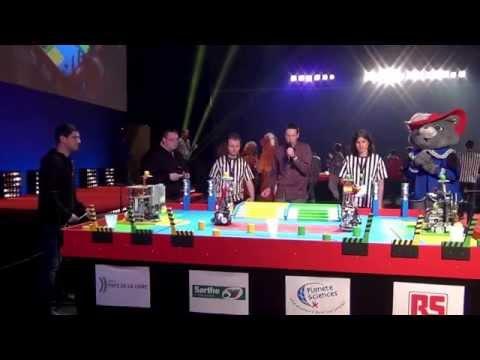 2015 - PM-ROBOTIX (54) vs UXSC2 (41) - Coupe de France Robotique 2015