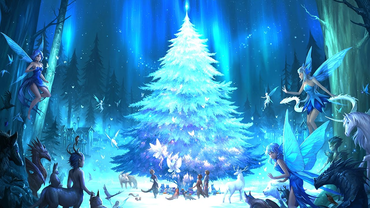Animated Christmas Desktop Wallpaper Christmas Medley A Mystical Christmas By Blakus Epic
