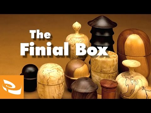The Finial Box by Ray Key | Woodturning How-to