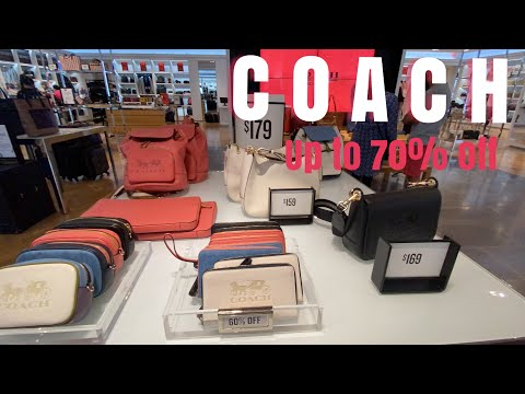 COACH Up To 70% Off /COACH Outlet Collections / COACH Canada