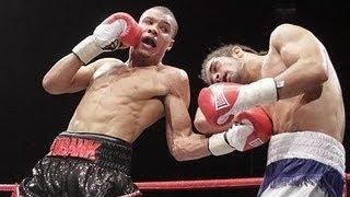 Chris Eubank Jr vs Jason Ball *Fighting 1 Handed*