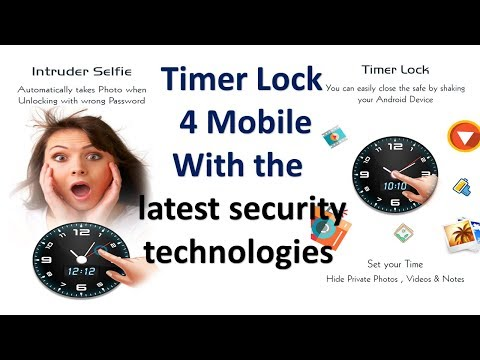 Timer Lock  for smart Mobile With the  latest security  technologies  I Smart App Lock Finger Print