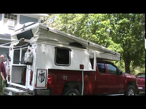 truck camper pop up building 2015 part 18 youtube. Black Bedroom Furniture Sets. Home Design Ideas