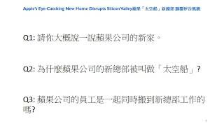 (Intermediate-Advanced)Business Chinese-Apple's new home(1)