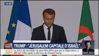 Macron qualifie de