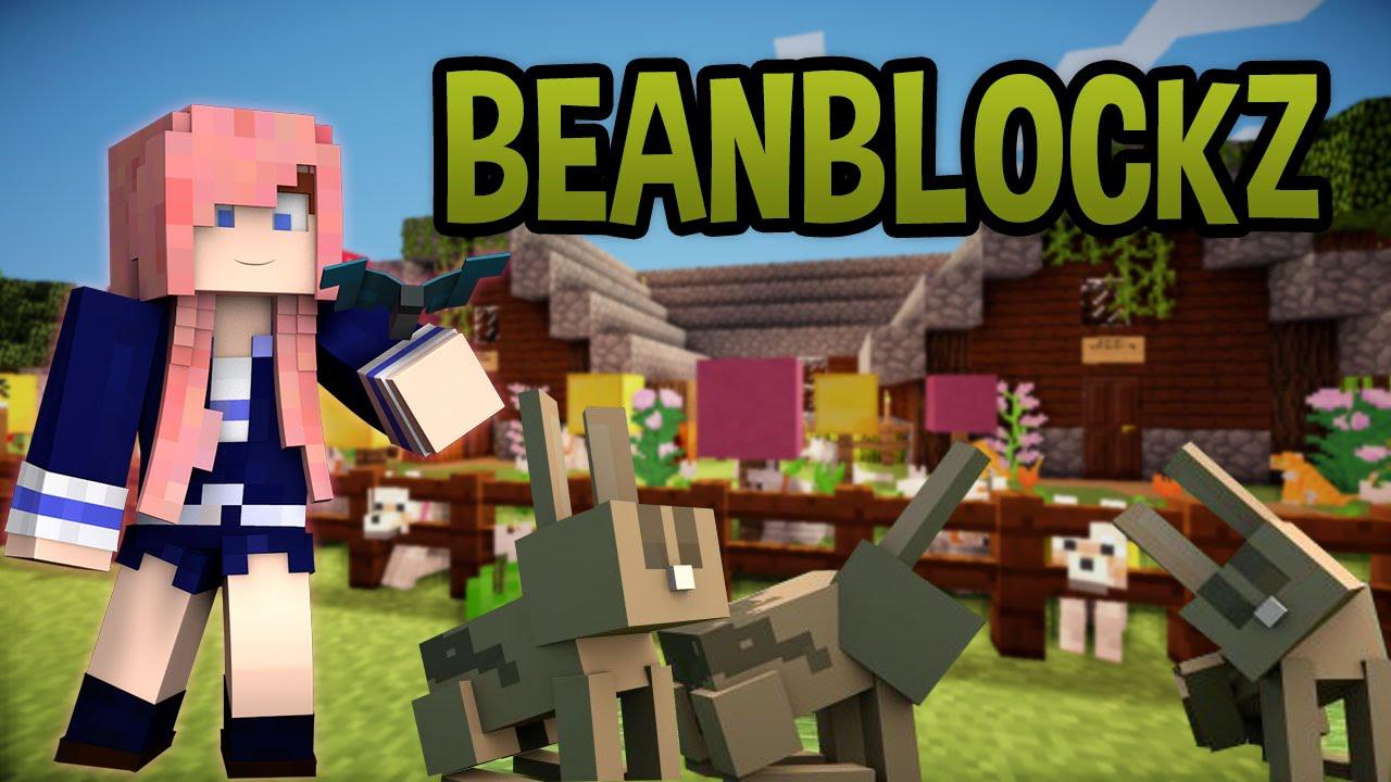 beanblockz survival house tour bunnies youtube