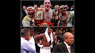 """BREAKING NEWS ANDY RUIZ REFUSES TO SIGN CONTRACT """"I WANT MORE MONEY!"""""""