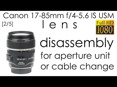 Flex Diaphragm Cable For CANON 17-85MM 4-5.6 Replacement Camera Repair Part New