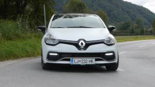 2016 renault clio RS 220 EDC trophy - test