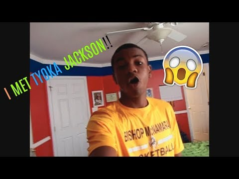 I MET TYOKA JACKSON!!(Part 1)
