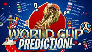 WORLD CUP PREDICTION!